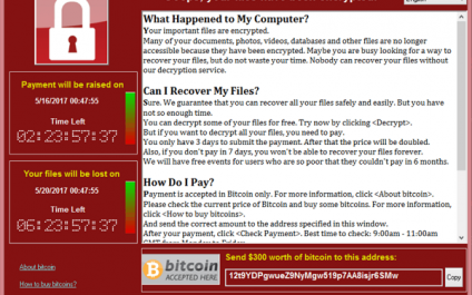 More about the WannaCry Ransomware Attack